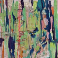 """Civilization"" (Oil on canvas 30"" x 30"") (c) 2008 Dominique Ovalle"