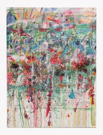 """Tipee Village"" (Oil on Canvas) 48"" x 60"" (c) Dominique Ovalle"