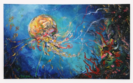 """Jellyfish"" (c) 2008 Dominique Ovalle"