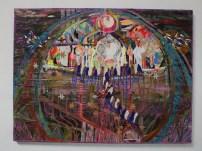 """Taj Mahello, 36""""x48"""" Mixed Media on Canvas, September, 2009"""