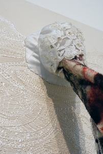 """Wedding Vomit"" Mixed media, dimensions variable. (c) Dominique Ovalle 2008"