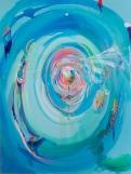 "--WORK IN PROGRESS---Acrylic on Canvas, (72""x 90"") 2013-2014"