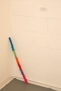 """""""Religion Today"""" (Piñata stick in corner) ($40)"""
