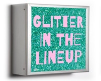 glitter in the lineup